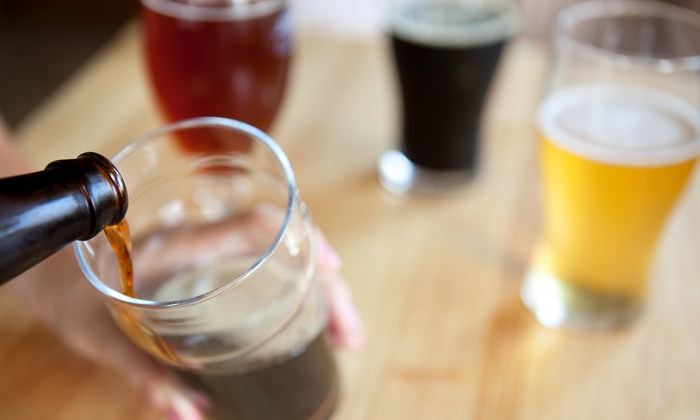 Drip Craft Beer Lounge - DRIP Beer, Cider & Wine Bar: Craft Beer and Appetizers for Two or Four or $12 for $20 Worth of Drinks at Drip Craft Beer Lounge