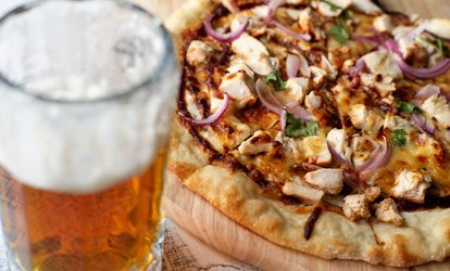 image for Pizza and Beer for Two at Opposition Italian Restaurant (Up to 78% Off)