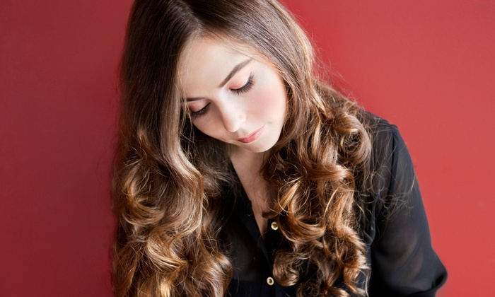 Salon 360 - Elmhurst: Women's Haircut with Option of Partial Highlights or Full Color at Salon 360 (Up to 56% Off)