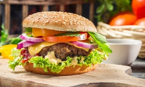 The Farmstead Cafe: Toasted Sandwich or Burger from R89 for Two at The Farmstead Cafe (Up to 54% Off)
