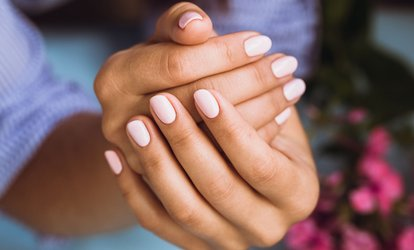 image for One or Two Gel <strong>Manicures</strong> at The Pampered Pinkie (Up to 50% Off)