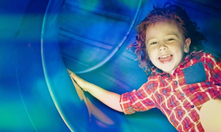 Soft Play Entry with Meal for One or Two Kids at Go Wild Soft Play (Up to 42% Off)