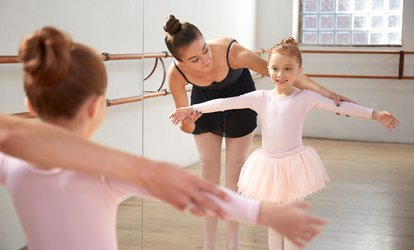 image for Two or Four Dance Classes for Kids and Teens of Ages 3–18 at Dance Progressions (Up to 53% Off)