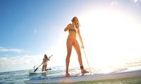Stand-Up-Paddeling mit Neoprenanzug für bis zu Zwei in der Westufer Surfschule am Kemnader Stausee (bis zu 44% sparen*)