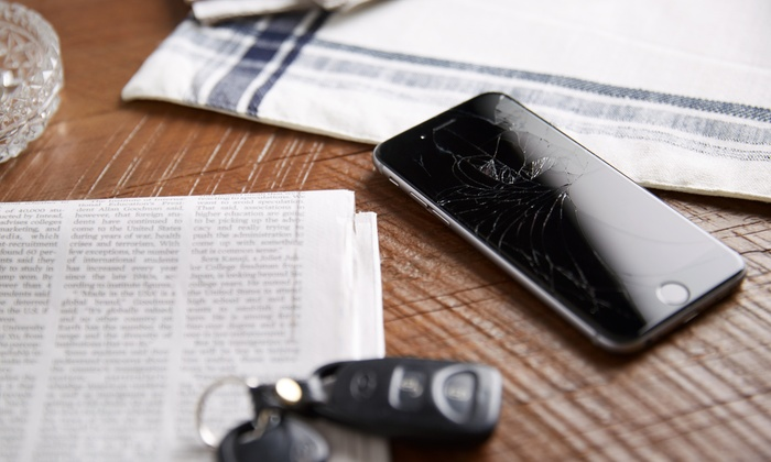 iPhone or iPad Screen Repair at All 4 Phones (Up to 45% Off). Six Options Available.