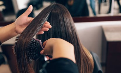 43% Off Hairstyling at Zazu Exchange