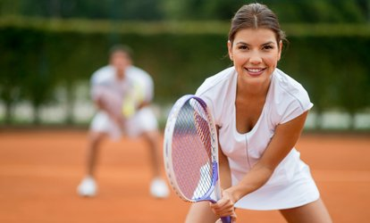 image for One-Hour Intermediate <strong>Tennis</strong> Clinic for One or Two People at Glastonbury <strong>Tennis</strong> Club (Up to 55% Off)