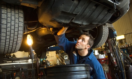 MOT Test with Optional Car and Air Conditioning Service at Rapid AirCon Recharge (Up to 82% Off)