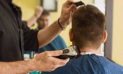 image for Men's Haircut and Blow-Dry at The Da Vinci Studio (42% Off)