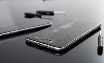 image for iPhone Full Screen and LCD Repair at SmartCell Solutions (Up to 12% Off). Four Options Available.