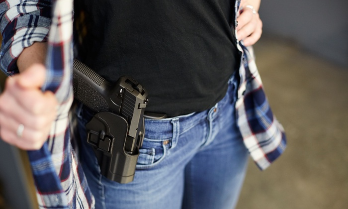 USS Agency - Multiple Locations: Concealed-Carry License Class for One or Two from USS Agency (Up to 95% Off)