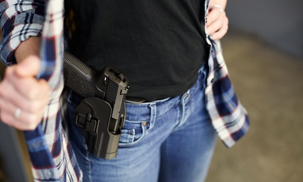 One Conceal Carry Course Class for One, Two, or Four People at Goldsmith Security Academy (Up to 60% Off)