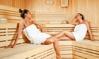 3 uur privésauna voor 2 of 4 personen inclusief fles cava vanaf € 69,99 bij Relax en Sun