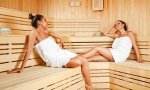 Relax en Sun: 3h de sauna privé pour 2 ou 4 personnes avec bouteille de cava chez Relax en Sun