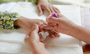 FAFA Salon: Regular Mani-Pedi with Optional Hand and Feet Paraffin and Brow Threading at FAFA Salon