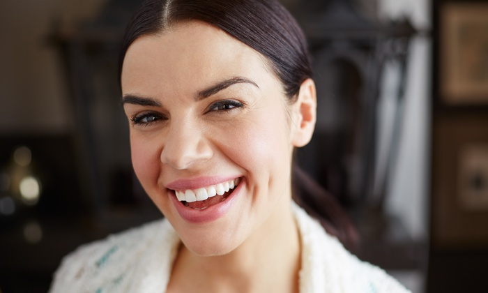 Koll Center Dental Group - Pleasanton: Dental-Care Package with Optional Six-Month Follow-Up Visit at Koll Center Dental Group (81% Off)