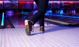 The Big Event: Bowling with Shoe Rental at The Big Event (Up to 59% Off). Three Options Available.