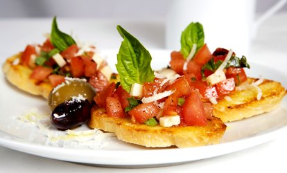 image for Choice of Starter and Pizza or Pasta for Two or Four at Il Gusto D'Italia (Up to 42% Off)