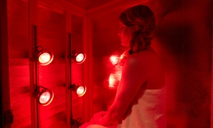 Glo Massage at LA Tan: Three Sessions or One Month of Unlimited Red-Light Therapy at Glo Massage at LA Tan (Up to 68% Off)