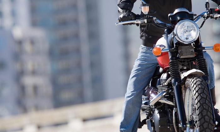 Moncada - Varias localizaciones: Curso para obtener el carné de moto A1 o A2 con práticas o curso completo para el carné A desde 49,95 € en Moncada