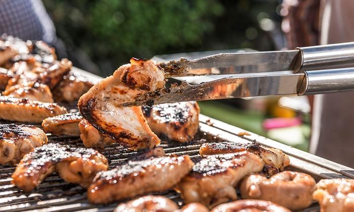 barbecue 40 personnes