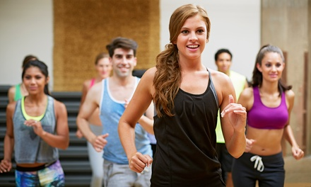 10, 15, or 20 Zumba, Yoga, or Bootcamp Classes at Anytime Fitness (Up to 62% Off)