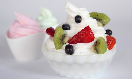 $20 for Four Groupons, Each Good for $10 Worth of Frozen Yogurt at Let's Yo! ($40 Value)
