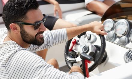 Licencia de Navegación de motos náuticas de clase C y embarcaciones de recreo por 89,90 € con A Son de Mar