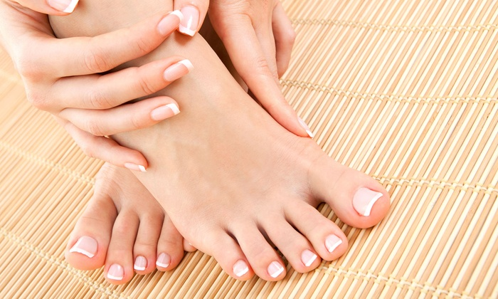 ND Nails - Des Plaines: Mani-Pedi or No-Chip Manicure and Regular Pedicure at ND Nails (Up to 47% Off)