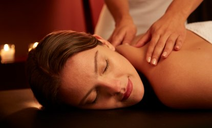 60- or 90-Minute Pamper Package at Eve's Massage Therapy (Up to 59% Off)