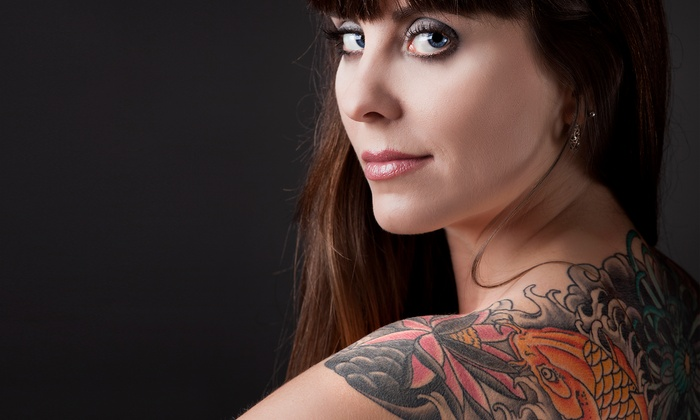 """Head2Toe Studio - Albany Park: Piercing with Jewelry or $30 for $60 Toward a 3""""x3"""" Tattoo at Head2Toe Studio"""