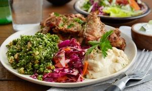 Al Baraka Market and Grill: Middle Eastern Food at Al Baraka Market and Grill (47% Off). Two Options Available.