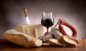 Ca' Del Grevino: Wine Tasting and Charcuterie Board for Two or Four at Ca' Del Grevino (43% Off)