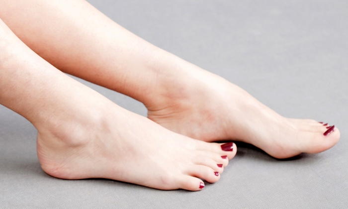 Laser Now - Multiple Locations: One or Two Laser Toenail-Fungus Sessions for Both Feet at Laser Now (Up to 89% Off)