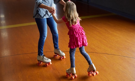 Five or Ten Public-Skating Visits at Villa Roller Rink (Up to 58% Off)