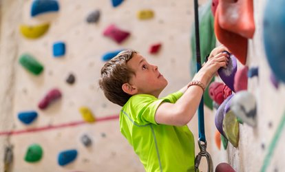 image for  90-Minute Indoor Climbing Experience for Child, Adult or Family of Four with Nevsail Water Sports (Up to 60% Off)
