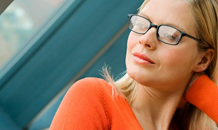 Eye Exam and Eyewear at Eyes on Main (Up to 91% Off). Three Options Available.