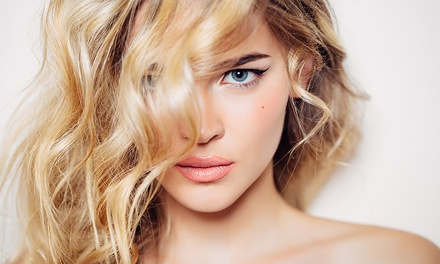 Haircut Package with Optional Partial or Full Highlights from Caroline Deprez at Salons by JC (Up to 53% Off)