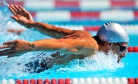 Ten Swimming Passes at Queen Elizabeth Leisure Centre or Two Riversmeet Leisure Complex (61% Off)