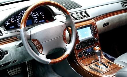 Estofos Auto MF — Matosinhos: substituição da pele do volante e da manete com opção de estofamento de bancos por 39,90€
