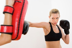 Kickboxing Monrovia: Five or Ten Kickboxing Classes at Kickboxing Monrovia (Up to 86%Off)