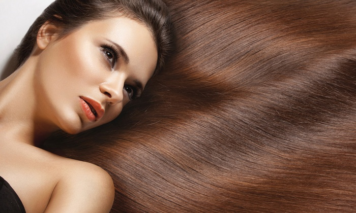Straighten Up - Solana Beach, CA - Solana Beach: Keratin Treatment with Optional Trim at Straighten Up (Up to 56% Off)