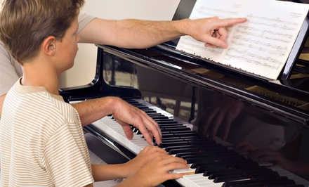 One or Three Months of Private Music Lessons at Dayton and Northmont Music Lessons (Up to 62% Off)