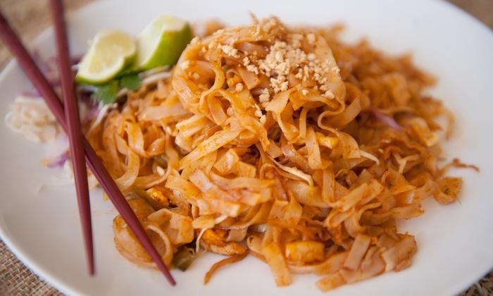 Coconut Thai Asian Bistro - Pacific Beach: Thai Food at Coconut Thai Asian Bistro (45% Off)