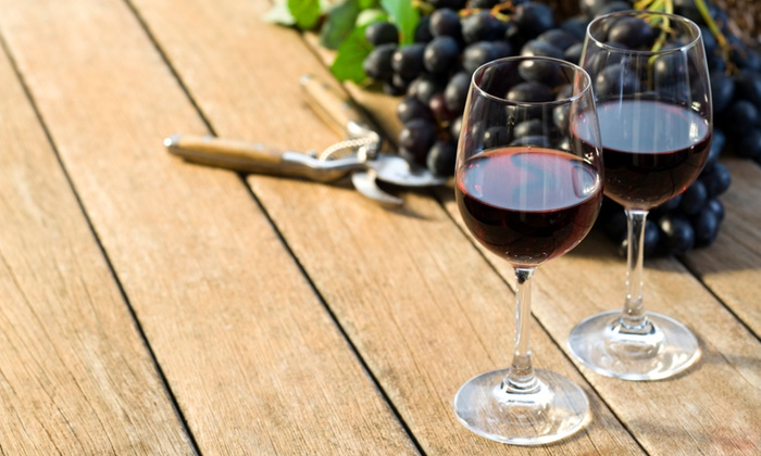 Rockside Winery and Vineyards - Rockside Vineyards: Wine Tasting with Cheese and Souvenir Glasses for Two or Four at Rockside Winery and Vineyards (50% Off)