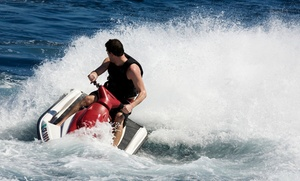 Action Water Sports: One or Two Jet Skis for One-Hour Rental from Action Water Sports (Up to 34% Off)