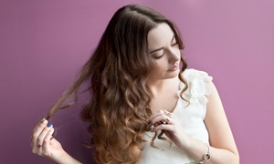 Beauty Pros International: Hair Extension Certification or Full Head of Hair Extensions from Beauty Pros International (Up to 58% Off)