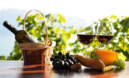 image for Wine Tasting and Cheese and Cracker Plate for Two or Four at Pugliese Vineyards (Up to 48% Off)