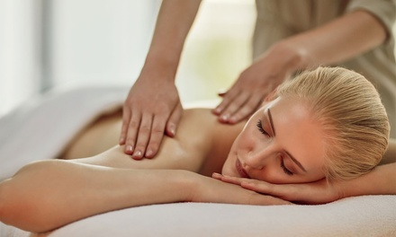 $39 for One-Hour Full-Body Massage with Hot Stones, or Foot Pamper Pkg with Neck and Shoulder Massage at E & G Day Spa