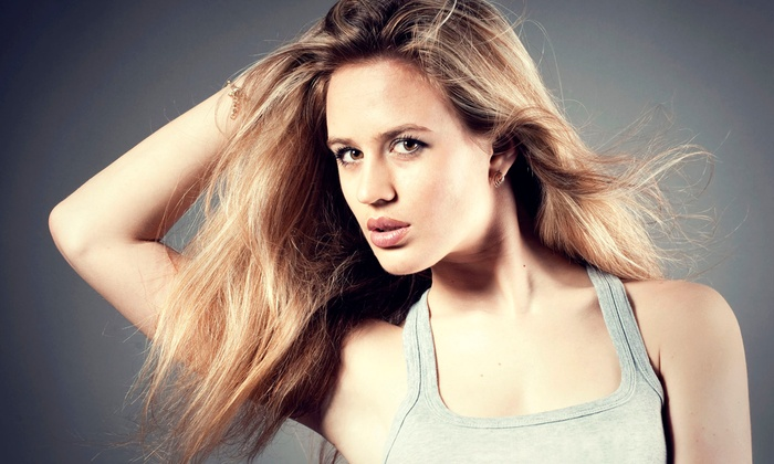 Hair Line Salon - New York: Blowout Session with Shampoo and Deep Conditioning with Moroccan Oil from hairline salon (55% Off)